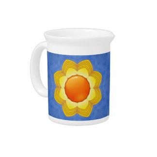 Porcelain Pitchers Sunny Day Kaleidoscope