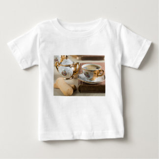 Porcelain tableware from the 19th century German Baby T-Shirt
