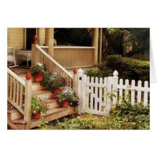 Porch - My Grandmother's Garden Greeting Card