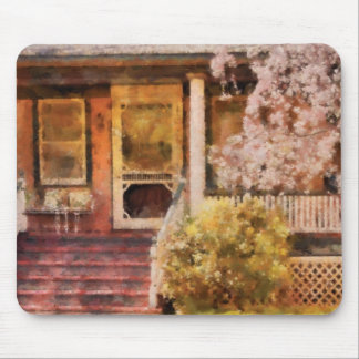 Porch - Pretty in Pink Mousepad