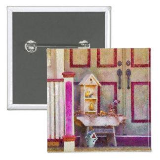 Porch - The birdhouse collector Pinback Button
