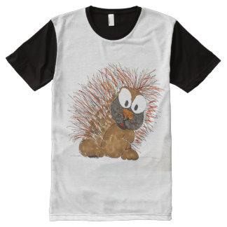 porcupine All-Over print T-Shirt