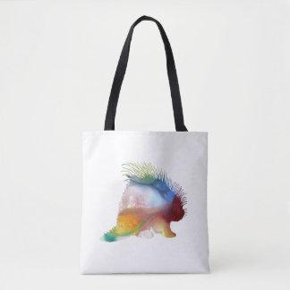 Porcupine Art Tote Bag