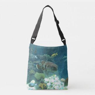Porcupine Fish Crossbody Bag