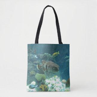 Porcupine Fish Tote Bag