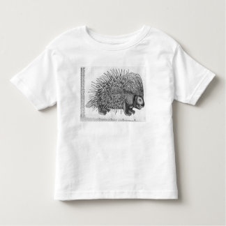 Porcupine, from 'Historia Animalium' Toddler T-Shirt