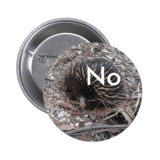 Porcupine says: No 6 Cm Round Badge