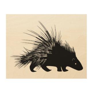 Porcupine wall art