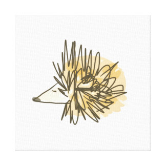Porcupine Wall Art Gallery Wrapped Canvas