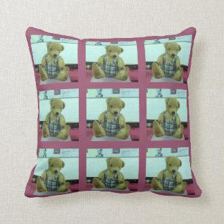 Porgy (Alan Turing's Teddy Bear) Cushion