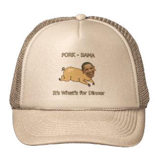 PORK-BAMA It's What's for Dinner Trucker Hats