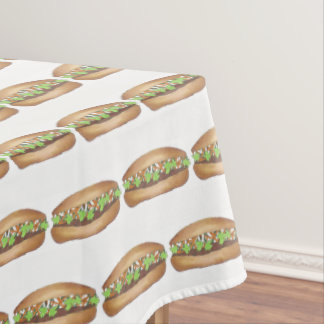 Pork Banh Mi Sandwich Vietnamese Food Foodie Chef Tablecloth