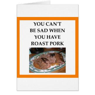 PORK CARD