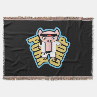 Pork Chop Throw Blanket
