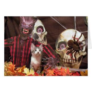 Pork Chop's Scary Halloween! Card