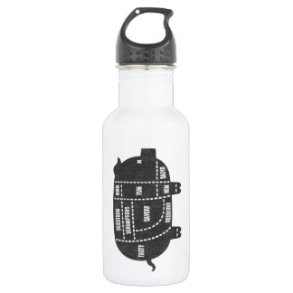 Pork Cuts III 532 Ml Water Bottle