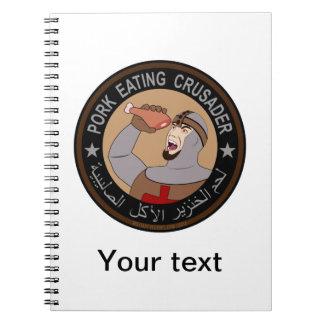 Pork Eating Crusader Notebook