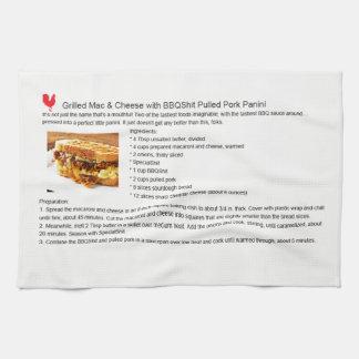 Pork Mac Cheese Panini Tea Towel
