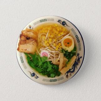 Pork Ramen Noodle Soup 6 Cm Round Badge