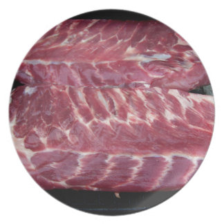 Pork Ribs Party Plates