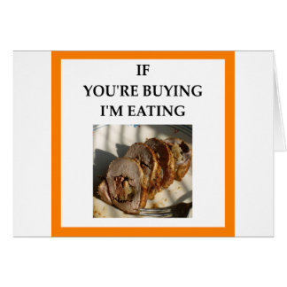 PORK ROAST CARD