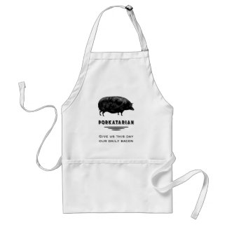 Porkatarian - Give Us Our Daily Bacon Standard Apron