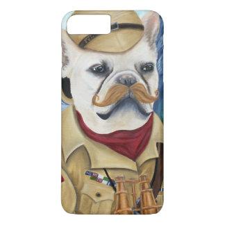 Porkchop the British Explorer iPhone 8 Plus/7 Plus Case