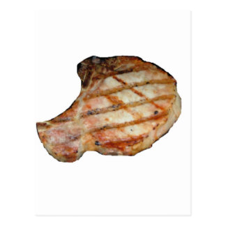 Porkchops Are Delicious Postcard