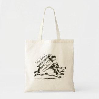 Porkopolis Tote Budget Tote Bag