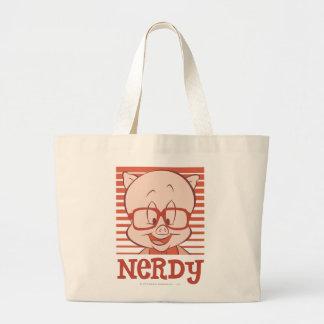 Porky - Nerdy Tote Bags