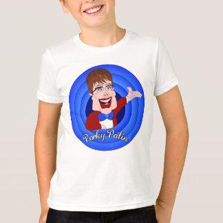 Porky Palin - Boys Ringer Tshirt - 2 Sides