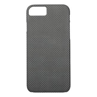 Porous Dark Metal Pattern iPhone 7 Case