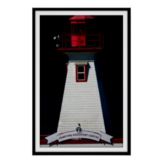 PORT ALBERNI  lighthouse poster