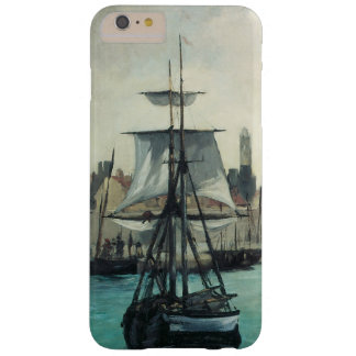 Port at Calais by Manet, Vintage Impressionism Art Barely There iPhone 6 Plus Case