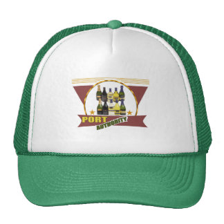 Port Authority Wine T-shirts and Gifts Mesh Hat