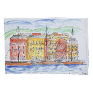 Port, Bastia | Corsica, France Pillowcase