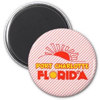 Port Charlotte, Florida 6 Cm Round Magnet