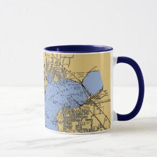 Port Charlotte, Florida Nautical Chart Mug