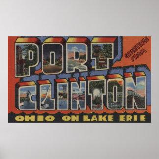 Port Clinton, Ohio - Lake Erie Posters