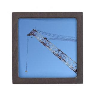 Port crane premium keepsake boxes