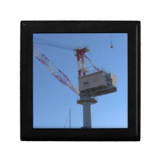 Port crane small square gift box
