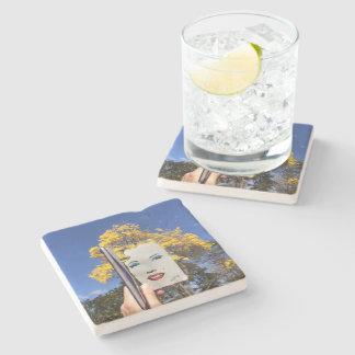 port cups matilyn monroe, toninho euzebio stone coaster
