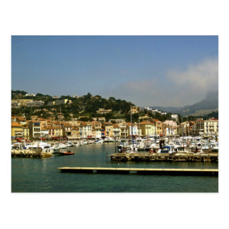 Port de Cassis Postcard