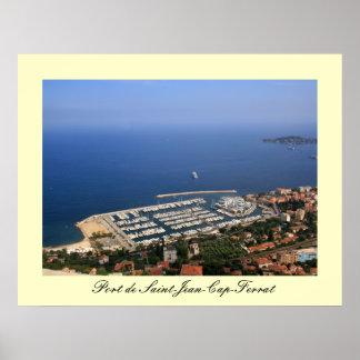 Port de St-Jean-Cap-Ferrat Poster