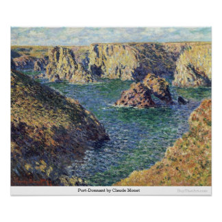 Port-Donnant by Claude Monet Poster