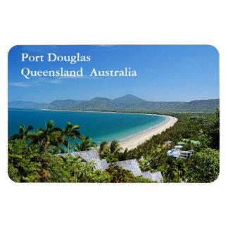 Port Douglas Rectangular Photo Magnet
