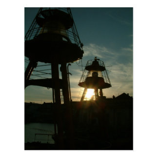 Port, Dunkerque, France - Postca Postcard