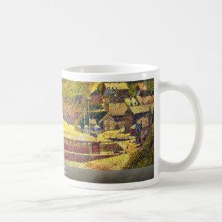 Port-En-Bessin By Seurat Georges Coffee Mug