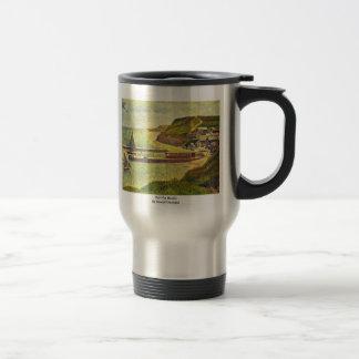Port-En-Bessin By Seurat Georges Coffee Mugs