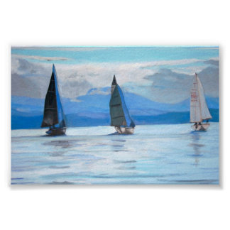 Port Hardy Sailing Race -  Poster